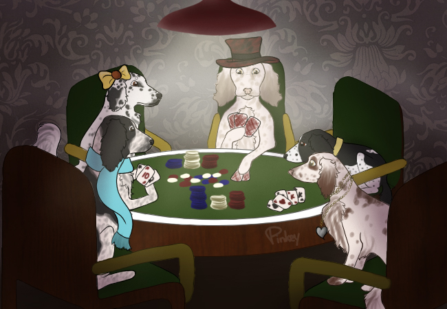 Wiltshire Poker Faces by prettypinkey2