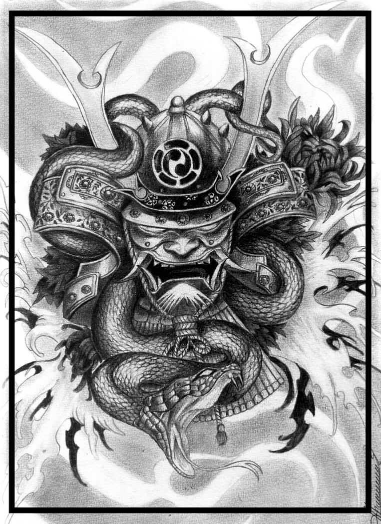 samurai demon by orlan21 on deviantart