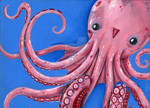 pink octopus by smushbox