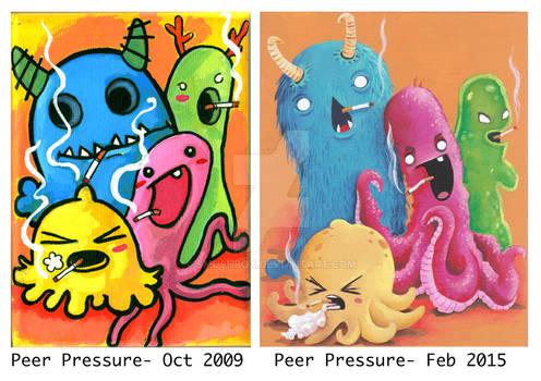 Peer pressure - comparison