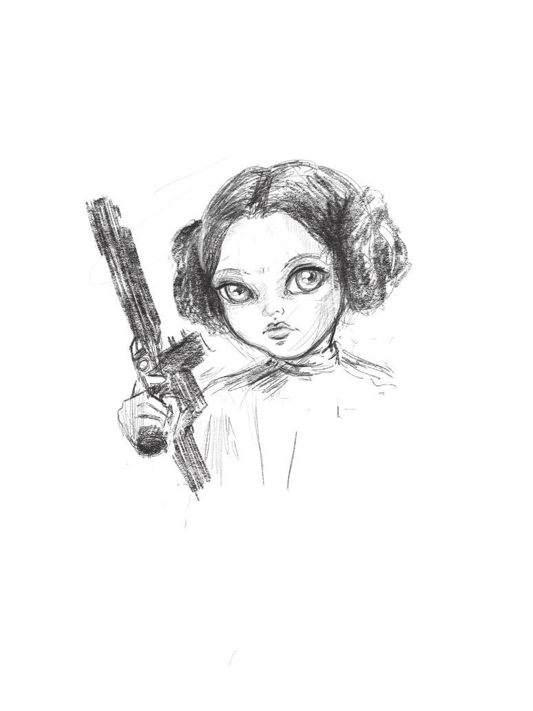 Princess Leia by smushbox