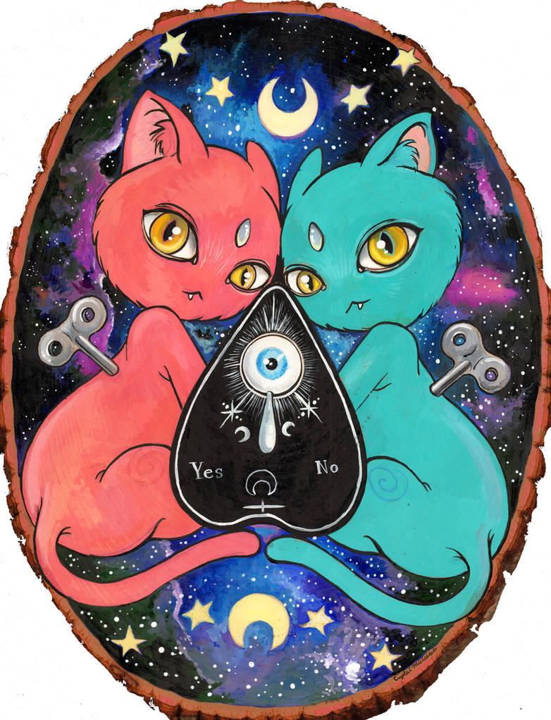 Clockwork Kitties by smushbox