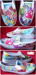 Color Explosion Shoes
