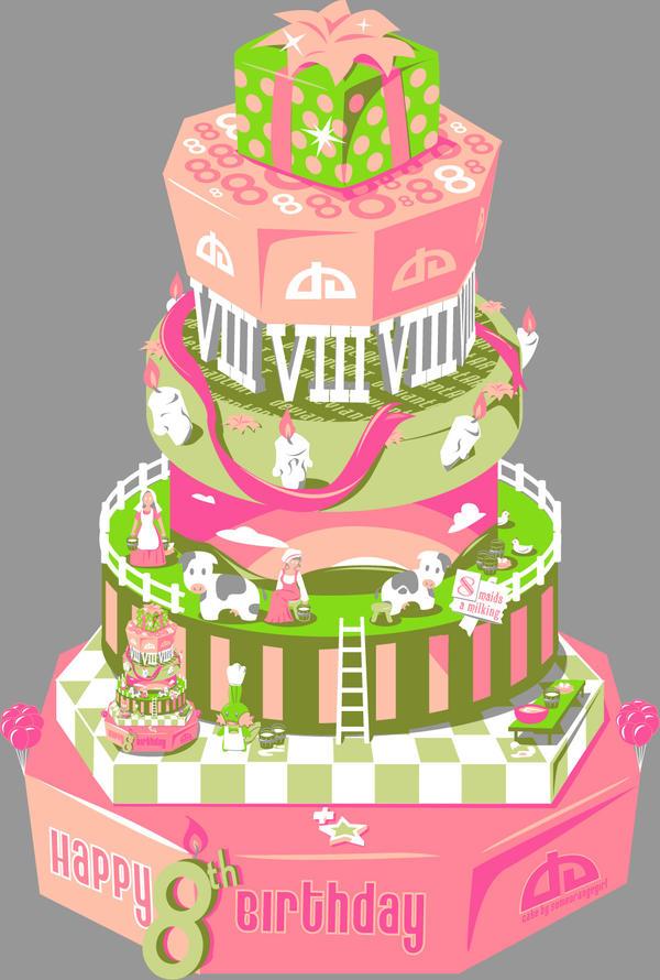 Happy 8th Birthday Da By Someorangegirl On Deviantart