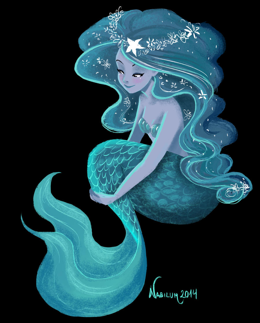 The Blue Mermaid by Nabilum