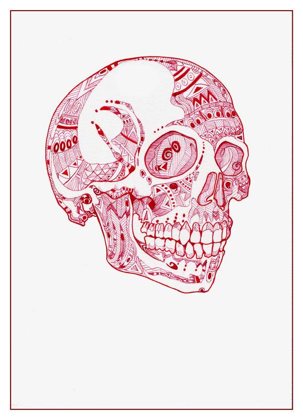 Halloween Skull by Howlingmojo
