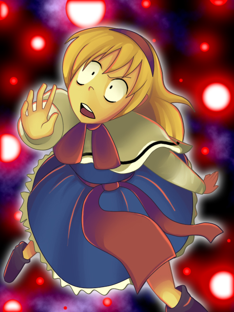 Alice in a pinch by Pirra