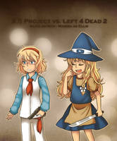 Nalice and Mellisa by Pirra