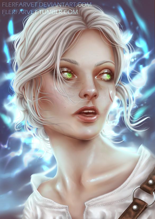 The Witcher - Vision by flerfarvet
