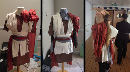 Costume for Salacious Puppet