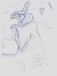Shaman/Witch Animatronic Concept #1