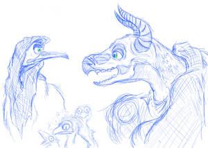 Shaman/Witch Animatronic Concept #2
