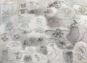 The School Year in Doodles 2018 (Part 1)