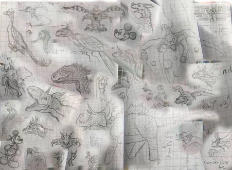 The School Year in Doodles 2018 (Part 2)