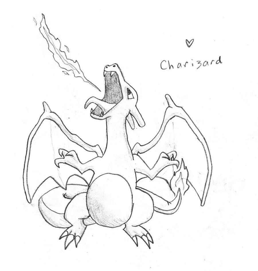 Charizard by Carlie-NuclearZombie