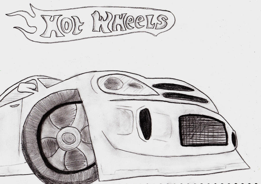 Hot wheels car by Carlie-NuclearZombie