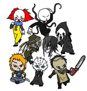 Horror chibis 2 W.I.P