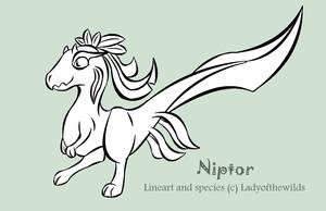 Niptor - Free line base by ladyofthewilds