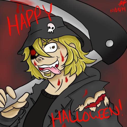 Mister Finch Halloween by MisterFinch
