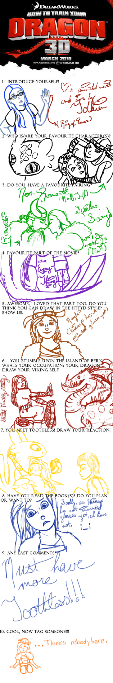 How To Train Your Dragon Meme by archangelmary