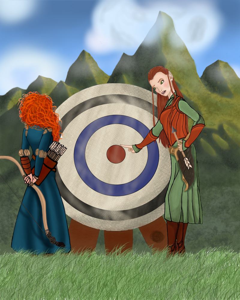 Another Archery Lesson by archangelmary