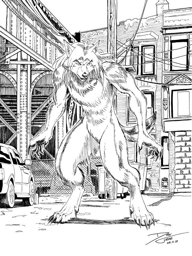 Urban Wolf by dirktiede