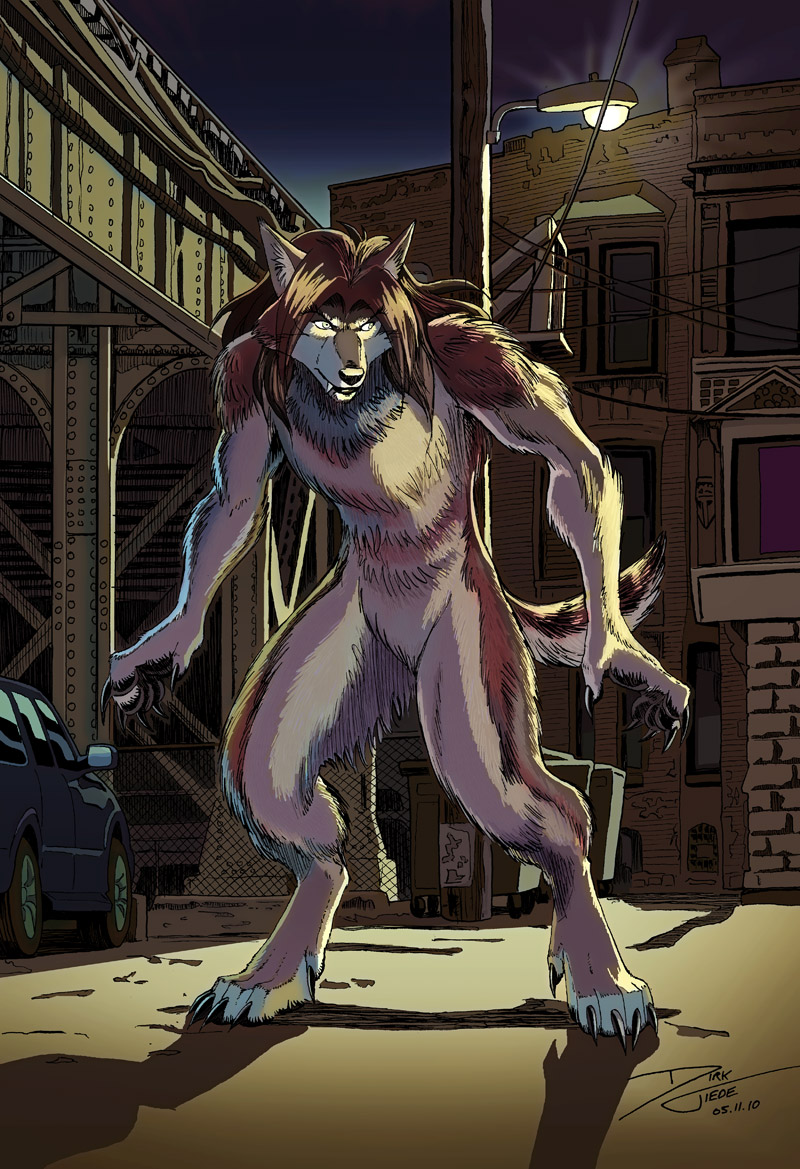 Urban Wolf - Color by dirktiede
