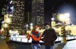 December in Millenium Park