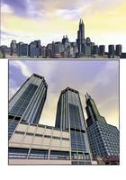 Chicago at Dusk by dirktiede