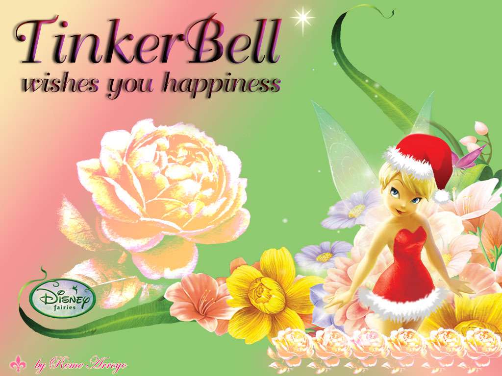 Christmas TinkerBell by Reme-Arroyo