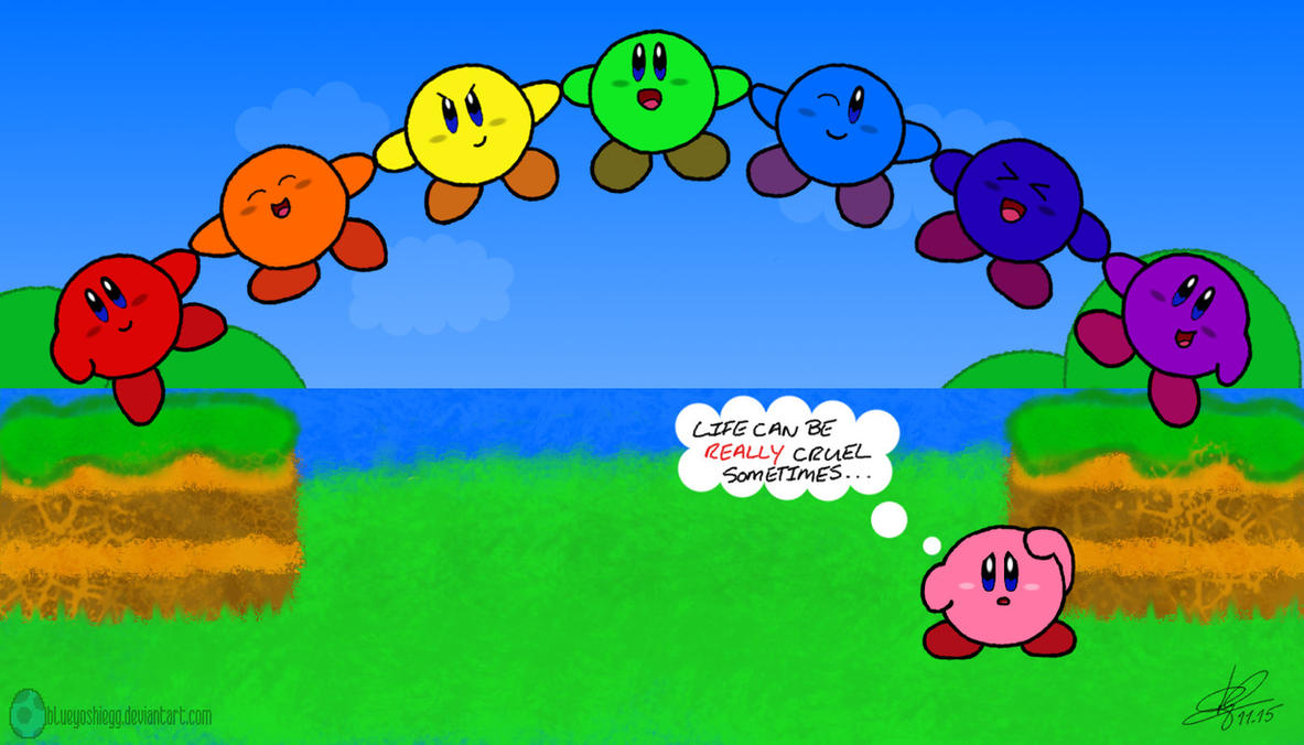 Kirbys rainbow curse by blueyoshiegg on deviantart kirbys rainbow curse by blueyoshiegg voltagebd Image collections