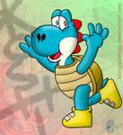 [RQ] Here's Koshi! by blueyoshiegg