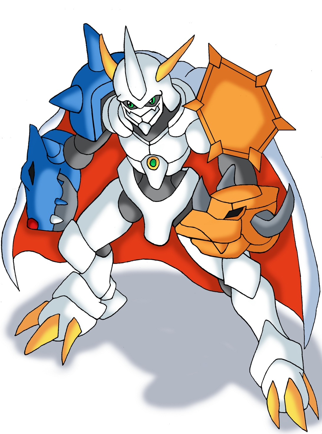 Omegamon by shinzombie