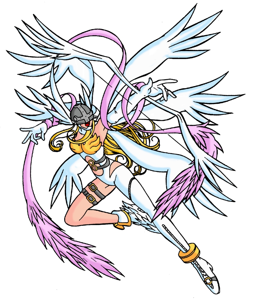 Angewomon by shinzombie