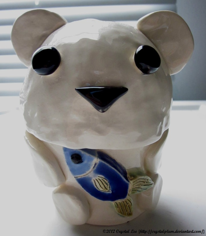 Teacup polar bear - photo#12