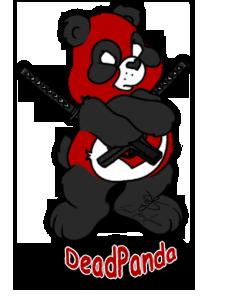 Dead Pool Panda by ScereyahaDreamweaver
