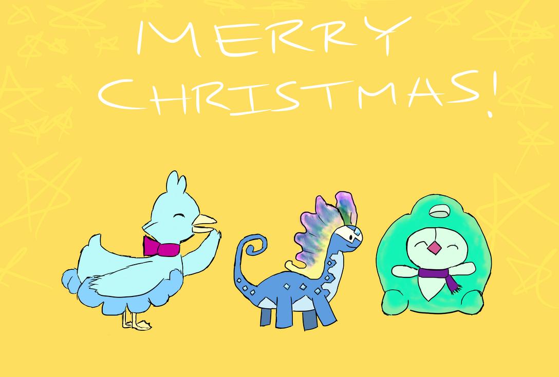 Christmas Card by bizarre-leggio