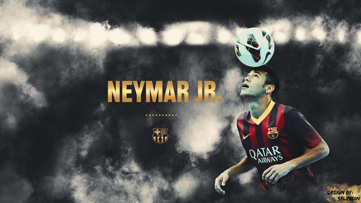 neymar jr fc barcelona wallpaper 2013 by selvedinfcb on