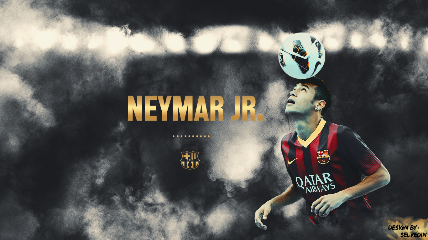 Neymar Jr. FC Barcelona wallpaper 2013 by SelvedinFCB