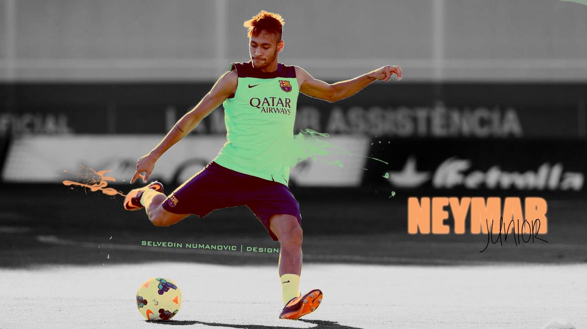 Neymar JR FC Barcelona Training By SelvedinFCB