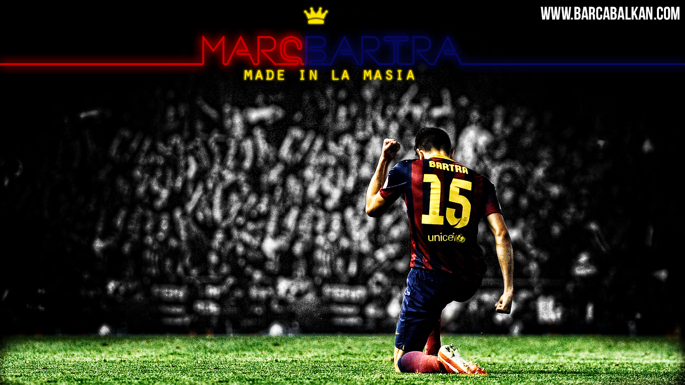 Marc Bartra FC Barcelona Wallpaper By SelvedinFCB