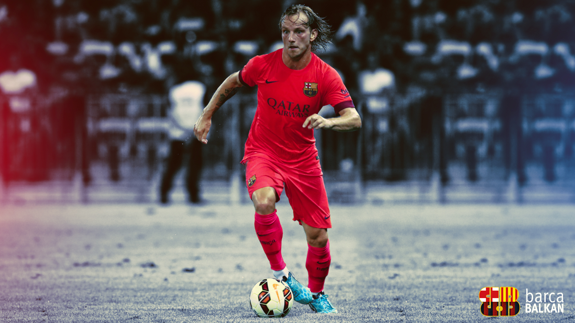 Ivan Rakitic FC Barcelona wallpaper 2014 15 by SelvedinFCB on