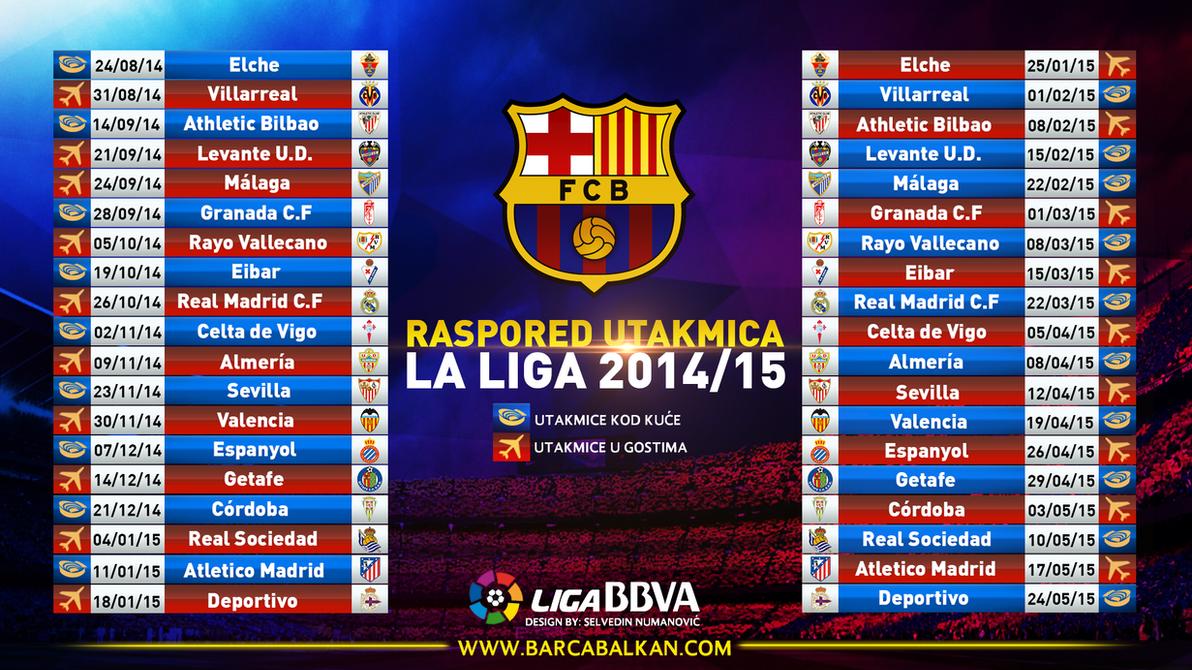 Barcelona Calendar Wallpaper : Fc barcelona la liga calendar by selvedinfcb on