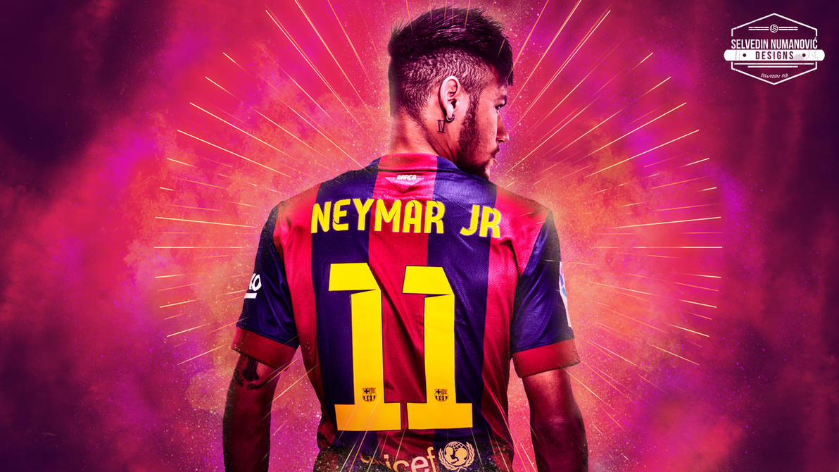Neymar Jr HD Wallpaper 2015 By SelvedinFCB