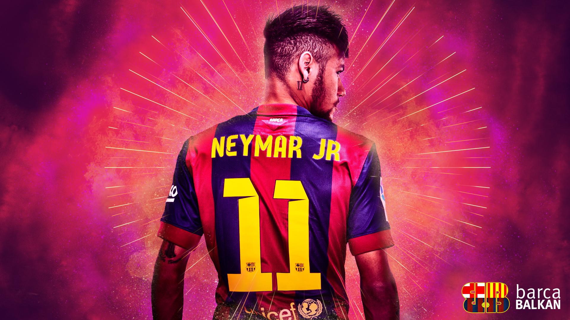 neymar jr fc barcelona wallpaper hd by selvedinfcb on