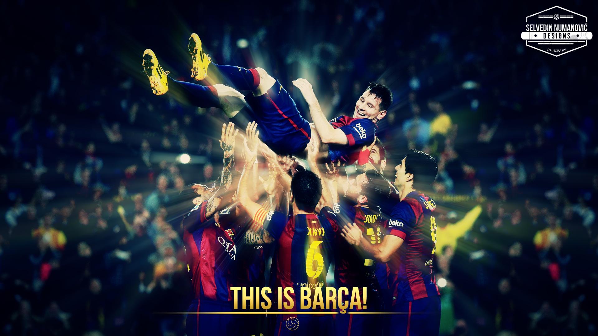 FC Barcelona HD WALLPAPER 2015