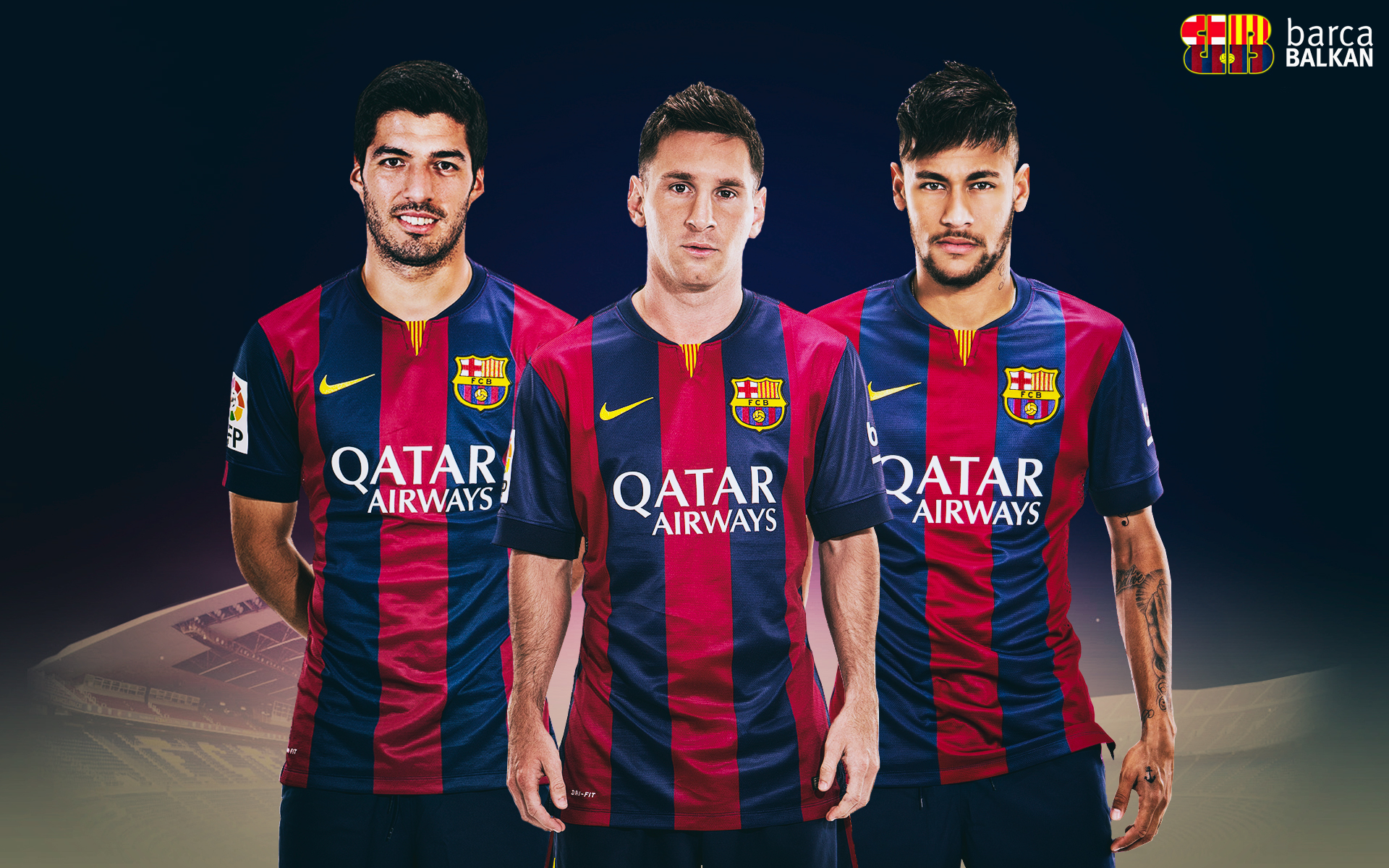 Barcelona Players Happy Wallpapers: Players, Teams, Leagues Wallpapers