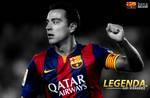 Xavi Hernandez 2015 FC Barcelona WALLPAPER