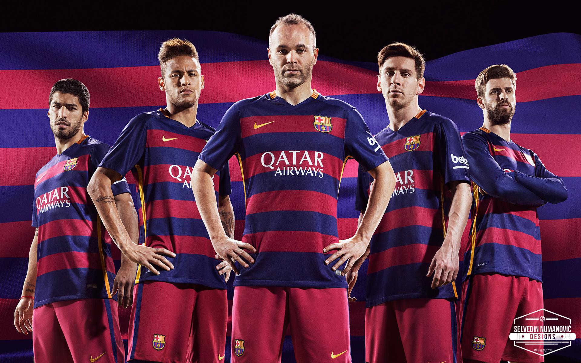 FC Barcelona 2015/16 HD WALLPAPER by SelvedinFCB