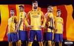 FC Barcelona 2015/16 HD WALLPAPER